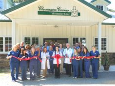 Clevenger's Corner Veterinary Care Ribbon Cutting!