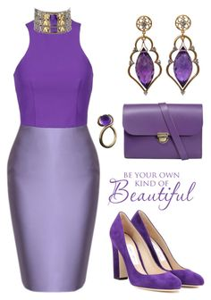 """""""envie de violet"""" by liligwada ❤ liked on Polyvore featuring T By Alexander Wang, N'Damus, Jimmy Choo, Wayne Smith Jewels and Konstantino"""