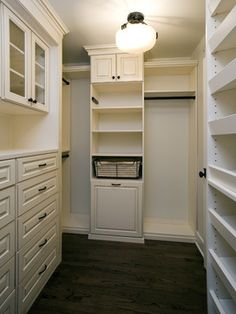 Walk In Closet For The Master Bedroom | would love to walk into this closet every day.