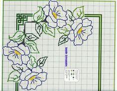 Cross Stitch Pillow, Cross Stitch Rose, Simple Cross Stitch, Cross Stitch Flowers, Hand Embroidery Stitches, Crochet Stitches, Needlepoint Patterns, Cross Stitch Patterns, Bargello