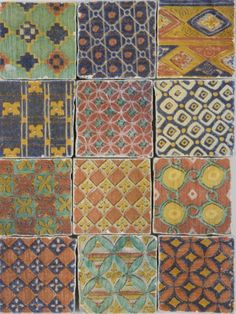 Chintz Decorative Tiles from Aeria