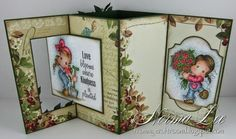 "From My Craft Room: Lever Card 6"" x 6"" (15cm x 15cm) Template"