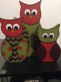 Owl Decorative Set