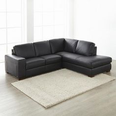 u0027Raleigh IIu0027 2-Piece Bonded Leather Sectional With Right-Hand Facing Sofa  sc 1 st  Pinterest : sears sectional sofas - Sectionals, Sofas & Couches