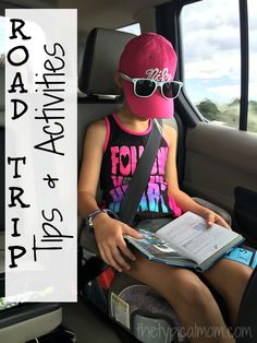 Road trip tips! Ways to make your next road trip with kids fun.