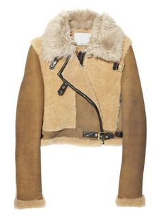 3.1 PHILLIP LIM | Shearling and suede jacket ($1,500)