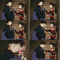 dorks (sango and miroku) #inuyasha