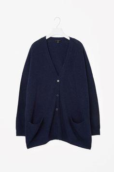 COS | Oversized wool cardigan