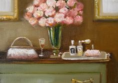 Janet Hill Studio | Perfume - Original Oil Painting. Sold