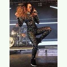 Ella wearing our Gypset Diary cosmic catsuit Ella Eyre, Wedged Trainers, Pop Singers, Just Amazing, Summer Trends, Catsuit, Leotards, Her Hair, My Style