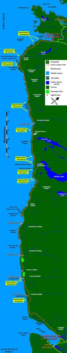 West Coast Trail British Columbia - Vancouver Island