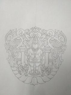 Dhanvantari Divyakala Tanjore Painting Drawings