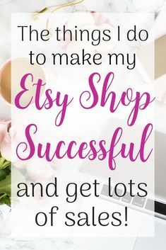 Sewing Projects To Sell Having a successful Etsy shop does take some effort, but it doesn't have to be hard. Here are the things that I do to have a successful Etsy shop! Business Help, Craft Business, Business Ideas, Starting An Etsy Business, Etsy Seo, Shops, Sell On Etsy, Making Ideas, How To Make Money