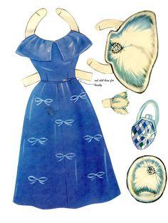 MaryLou a Darling Doll with Hair 1958 Saalfield - Linda - Picasa Webalbum