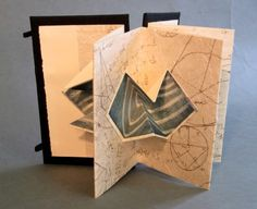 Alchemic Calculations by Katherine Venturelli www.cullowheemountainarts.org #bookarts #workshops