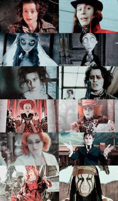 red tim burton film movie MY EDIT Alice In Wonderland johnny depp helena bonham carter sweeney todd corpse bride Charlie and the Chocolate Factory willy wonka dark shadows Red Queen Mad Hatter pelicula mrs lovett tonto películas julia hoffman barnabas collins The Lone Ranger Disneyedit johnnydeppedit moviedit deppedit Mrs Bucket