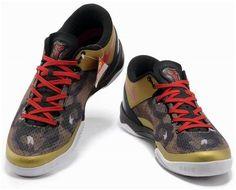 http://www.asneakers4u.com Nike Kobe 8 System Basketball Shoe Snake Gold2