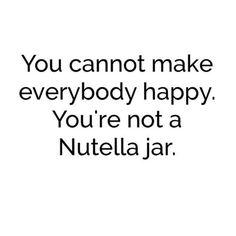 #Nutella I rest my case #Quote