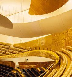 Grande salle, Philarmonie de Paris designed by Jean Nouvel