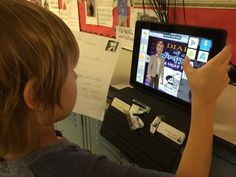1st Grade Book Reports using Tellagami (via Margie Brown): http://vveedtech.weebly.com/vve-ed-tech-blog/tellagami-book-reports