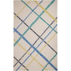 Shop for M.A.Trading Hand-Tufted Chinese Lienzo Ivory/ Blue Rug (5 x 8'). Get free delivery at Overstock.com - Your Online Area Rugs Outlet Store! Get 5% in rewards with Club O! - 18525637