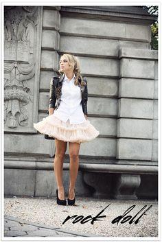 #fashion #fashionista Camilla nero rosa Glamgerous - Fashion Blogger: Rock Doll