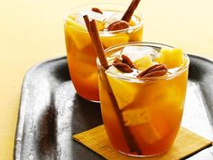 Rum and pumpkin puree pair perfectly in this punch that's also sweetened with dark brown sugar.