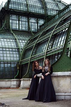 The ultimate glamorous photo-shooting at Palmenhaus and Parkhotel Schöbrunn in elegant looks with a mix of shimmering accessories as well as… Tv Shooting, Bridesmaid Dresses, Wedding Dresses, Pretty Pictures, Style Guides, Editorial, Glamour, Photoshoot, Couture
