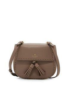 Kate Spade New York James Street Shaylee Leather Crossbody Bag, Earthen Root