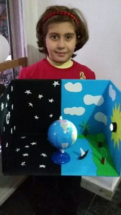 This post was discovered by MeThis project helps children understand how healthy lungs f Kids education, Solar system projects, Earth Kid Science, Preschool Science, Science Activities, Science Centers, Preschool Crafts, Teaching Kids, Kids Learning, Earth Science Projects, Solar System Crafts