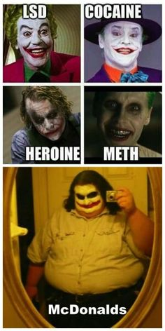 Some joker humor