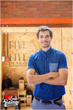 I Love Pretoria: Navarre Ebersohn from Five Past Five Design