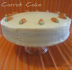 Tarta de zanahoria - Carrot Cake