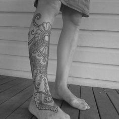 Αποτέλεσμα εικόνας για ankle to calf tattoo men