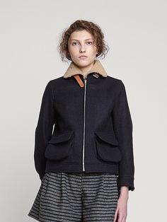 Colenimo — Melton Wool Flight Jacket