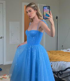 Sparkly Prom Dresses, Tulle Prom Dress, Wedding Party Dresses, Pretty Dresses, Strapless Dress Formal, Beautiful Dresses, Dress Up, Formal Dresses, Prom Gowns