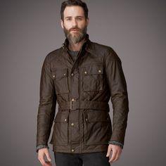 Mens Redford Jacket from Belstaff UK | Mens Designer Jackets & Coats