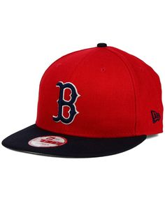 f35d3846ece New Era Boston Red Sox 2-Tone Link 9FIFTY Snapback Cap