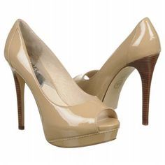 The prettiest nude shoe I think I've seen.... I like the peep toe and the color of the heel.  It can be casual or dressy.  $152