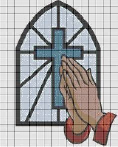 Costuras Stephany : Patrones De Punto de Cruz Religiosos
