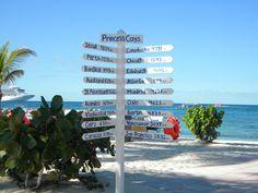 Princess Cay in the Bahamas