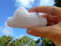 Cloud Amigurumi Free Pattern