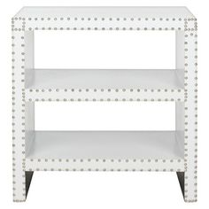 Safavieh Lacey Side Table - White