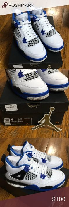Air Jordan 4 Retro BG 6Y Motorsport Brand new and never worn. I had bought