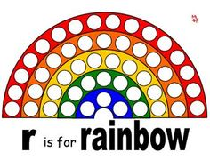Magnet Page for Rainbow Theme.  You can learn more about them at Making Learning Fun.