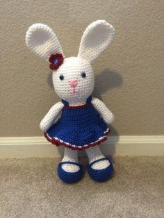 Handmade bunnies made to order. https://www.facebook.com/Craftycreationsbyneeka
