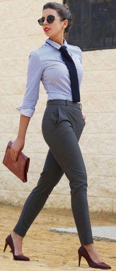 40 Business Outfits für Frauen - http://deutschstyle.com/2016/07/07/40-business-outfits-fur-frauen.html