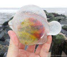 Wondering when it will be my turn to discover a piece of sea glass like this... -Sea Glass Journal