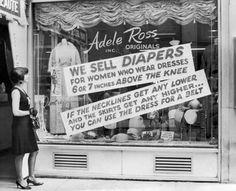 1966 anti mini skirt sentiment