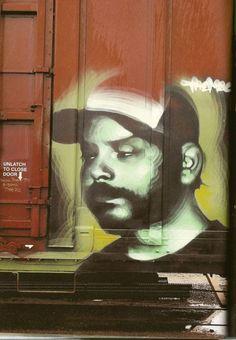 Photorealistic Graffiti by El Mac Best Street Art, 3d Street Art, Street Artists, Street Art Utopia, Street Art Banksy, Train Art, Graffiti Murals, Mac, Subway Art